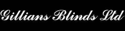 Gillians Blinds Logo White